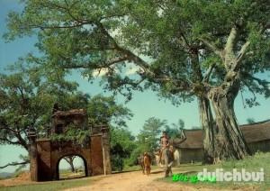 Cổng làng - Ảnh: Bacgiang Portal
