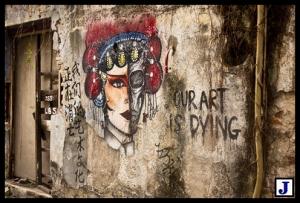 penang street art - malaysia