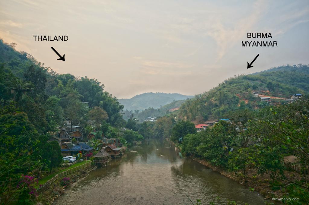 Đường biên giới: Thái Lan - Myanmar