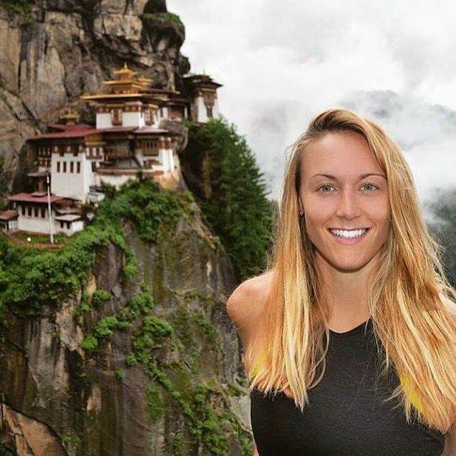 Cassandra De Pecol ở Bhutan