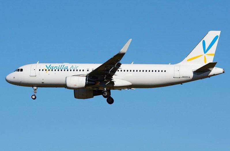 Máy bay A320 của Vanilla Air