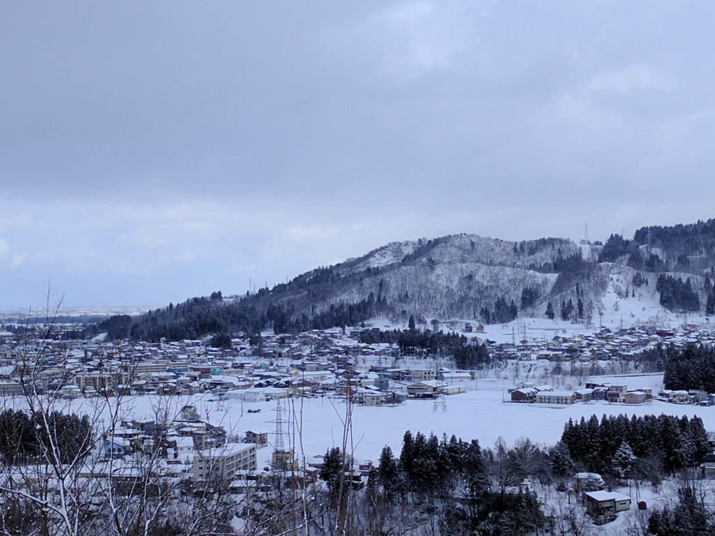 Tuyết ở Ojiya