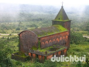 Nhà thờ công giáo cũ - Bokor, Kampot, Campuchia