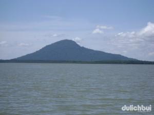 Núi Bà Rá, Hồ thủy điện Thác Mơ
