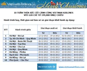 Vietnam Airlines bán vé máy bay giá rẻ 199.000 đồng/chặng