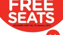 AirAsia FREE SEATS 2013