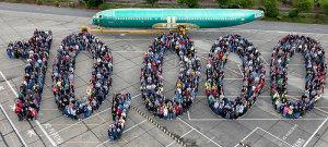 Chào mừng chiếc Boeing 737 thứ 10.000 được lắp ráp