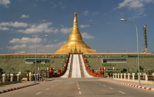 Chùa Uppatasanti, Naypyidaw