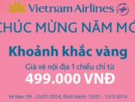 vietnam airlines mo ban ve may bay tet 2014 gia re
