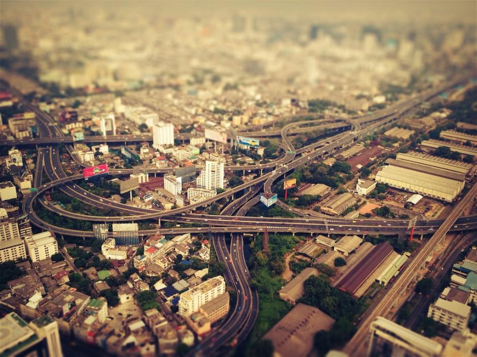 Bangkok nhìn từ trên cao