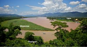 Đường biên giới 3 nước: Thái Lan - Lào - Myanmar