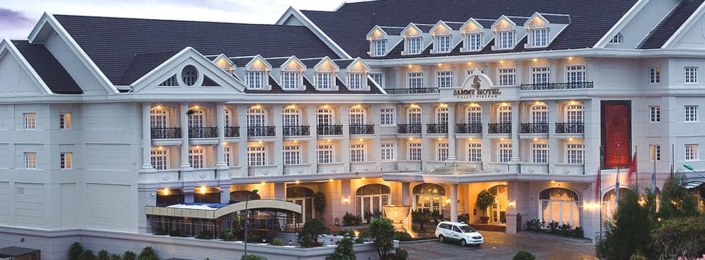 Khách sạn Sammy Đà Lạt nhìn từ bên ngoài