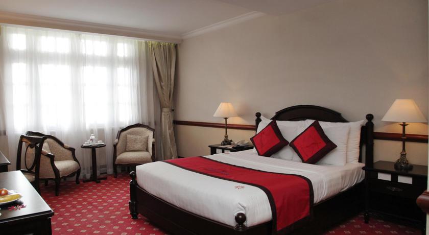 Phòng deluxe - Khách sạn Sammy