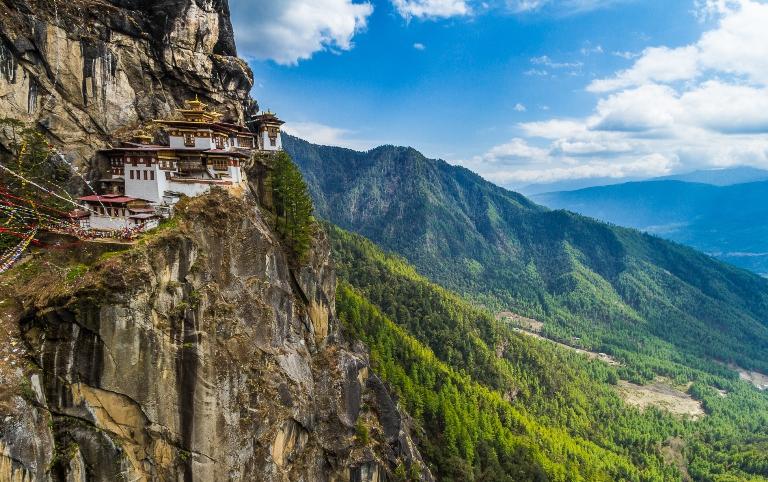 Đền Tiger Net ở Bhutan