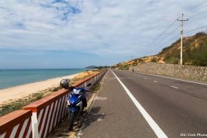 Trên đường ra Bàu Trắng - Bình Thuận