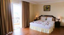 Phòng ở khách sạn Iris Đà Lạt
