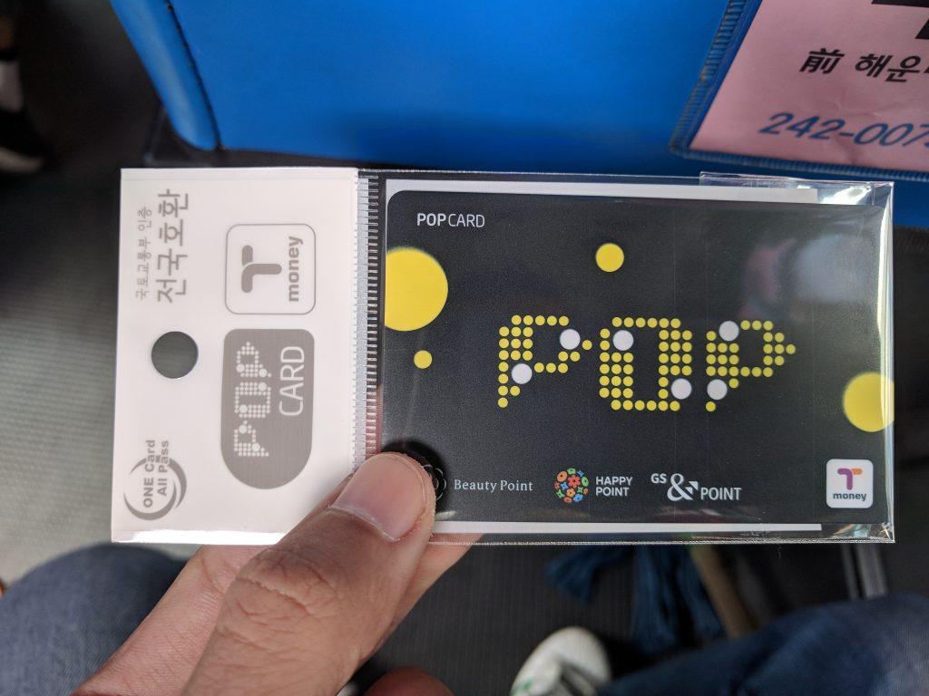 Thẻ T Money được bán rộng rãi nhiều nơi với giá 2.500 won