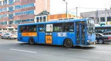 Xe bus ở Hàn Quốc (Ảnh: KTO)