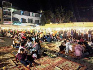 Chợ đêm ở Phnompenh