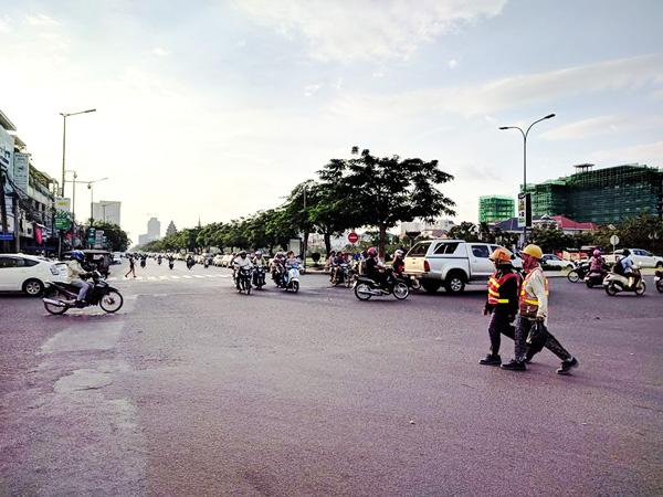 Đường phố ở Phnom Penh