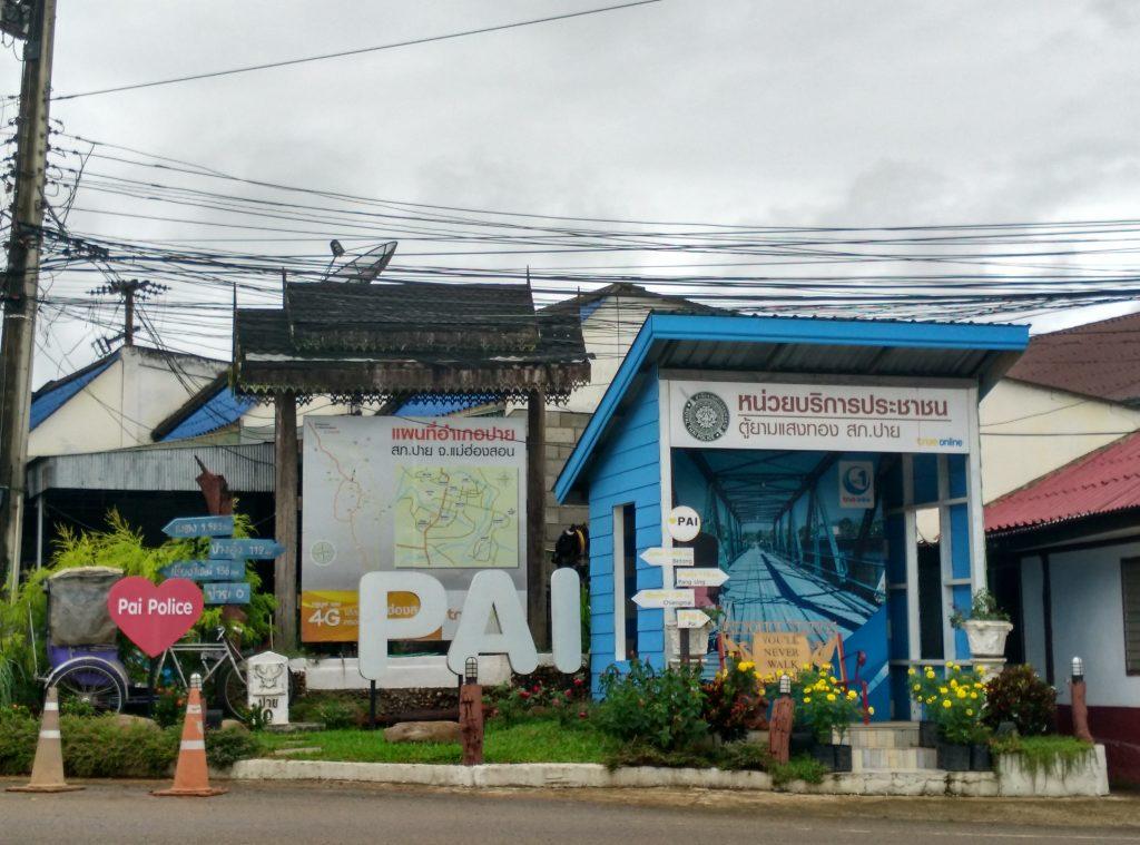đồn cảnh sát ở Pai