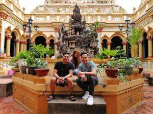 Check - in sống ảo ở chùa Vĩnh Tràng
