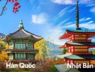 Nên đi du lịch Hàn Quốc hay Nhật Bản