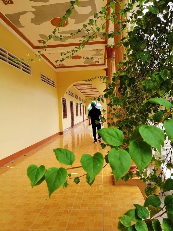 Một hành lang rất lãng mạn kiểu Châu u