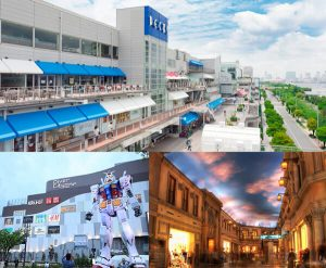 Trung tâm mua sắm ở Odaiba