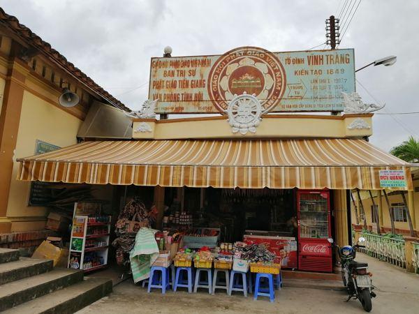 Văn phòng Tịnh Hội chùa Vĩnh Tràng