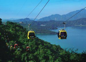 Cáp treo Hồ Nhật Nguyệt