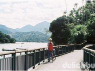 Đạp xe quanh hồ Nhật Nguyệt