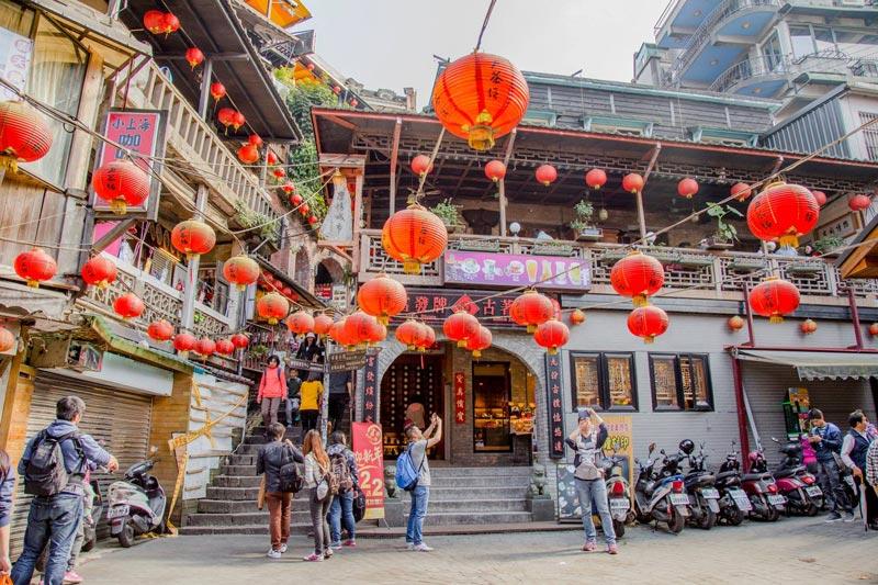 Làng cổ Cửu Phần Taipei Đài Loan