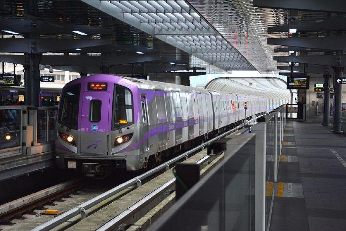 DI chuyển bằng MRT đi sân bay đào viên từ Đài Bắc