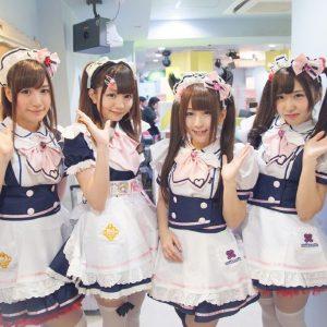 Nhân viên của Maid cafe là những cô hầu gái cực dễ thương