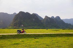 Cảnh vật bình yên ở Tân Hóa