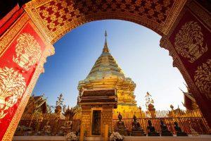 Chùa Wat Doi Suthep Chiang Mai có gì hay