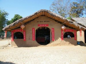 Những ngôi nhà bằng đất truyền thống người Vân Nam