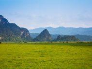 Phong cảnh tuyệt đẹp ở Tân Hóa
