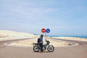 Con đường huyền thoại giữa sa mạc ở Bình Thuận