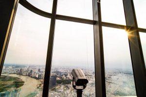 Kính viễn vọng ở tầng 81 - Đài quan sát Landmark 81 Skyview
