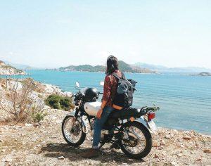 Hành trình xuyên Việt của cô gái 9x Hà thành
