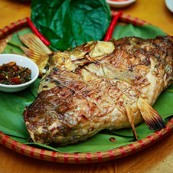 Món cá nướng Pa Pỉnh Tộp